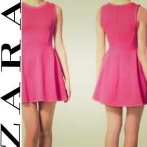 Zara | Evening collection pink dress Small